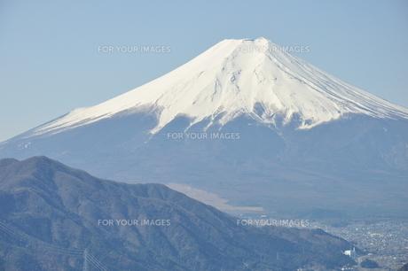 高川山からの富士山の素材 [FYI00166730]
