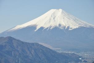 高川山からの富士山の写真素材 [FYI00166730]