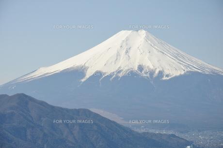 高川山からの富士山の素材 [FYI00166738]