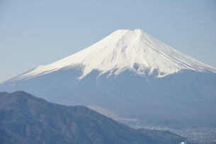 高川山からの富士山の写真素材 [FYI00166738]