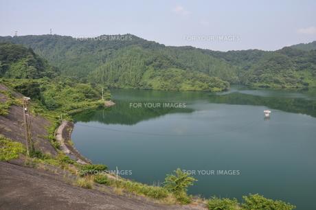 城山湖の写真素材 [FYI00167632]