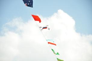 万国旗の写真素材 [FYI00167939]