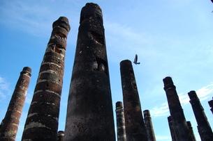 タイの遺跡と空の写真素材 [FYI00168048]