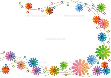 カラフルな花の写真素材 [FYI00168179]
