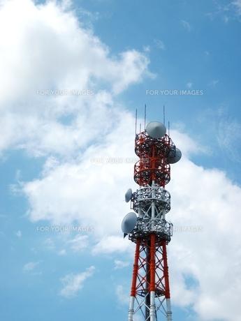 アンテナ塔の写真素材 [FYI00168201]