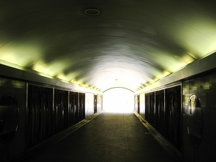 トンネルの出口の写真素材 [FYI00168203]