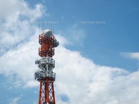 アンテナ塔の写真素材 [FYI00168212]
