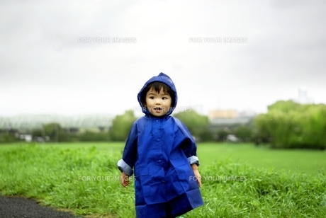 雨のお散歩の写真素材 [FYI00168372]