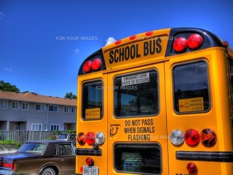 スクールバスの写真素材 [FYI00168427]