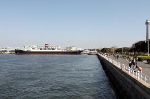 山下公園と横浜港の写真素材 [FYI00168659]