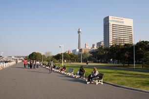 横浜山下公園の写真素材 [FYI00168667]