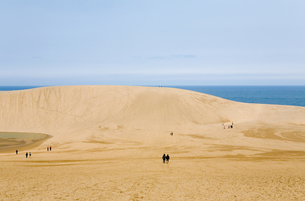 鳥取砂丘の写真素材 [FYI00168684]