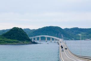 海にのびる橋の写真素材 [FYI00168688]