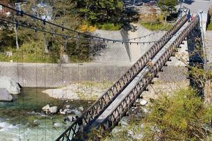 つつじ吊り橋の写真素材 [FYI00168718]