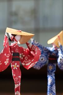 おわら風の盆の紙人形の写真素材 [FYI00168739]
