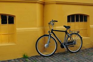 コペンハーゲンの自転車の写真素材 [FYI00168850]