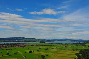 バイエルン州の田園風景2の写真素材 [FYI00168860]