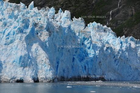 アラスカの氷河の写真素材 [FYI00168890]