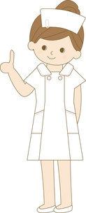 看護師 全身 ポイントの写真素材 [FYI00169036]