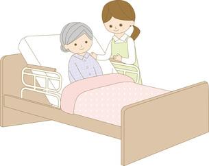 ヘルパー ベッドの写真素材 [FYI00169041]