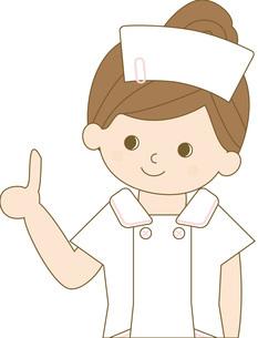 看護師 上半身 ポイントの写真素材 [FYI00169043]