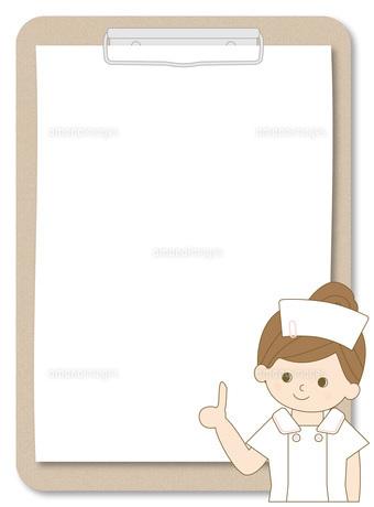 看護師 バインダーの写真素材 [FYI00169048]