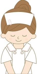看護師 上半身 お辞儀の写真素材 [FYI00169052]