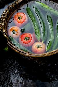 トマトときゅうりの素材 [FYI00169072]