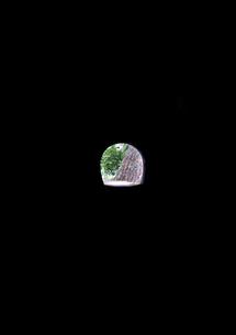 トンネルから見える緑の写真素材 [FYI00169092]