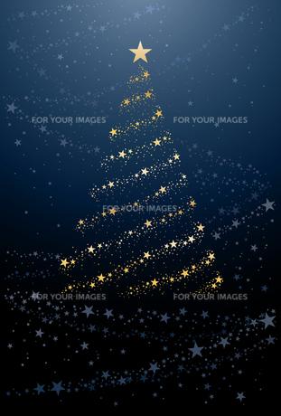 クリスマスツリーの写真素材 [FYI00169152]