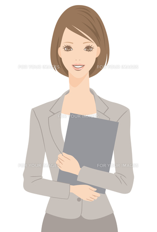 スーツを着た女性の写真素材 [FYI00169203]