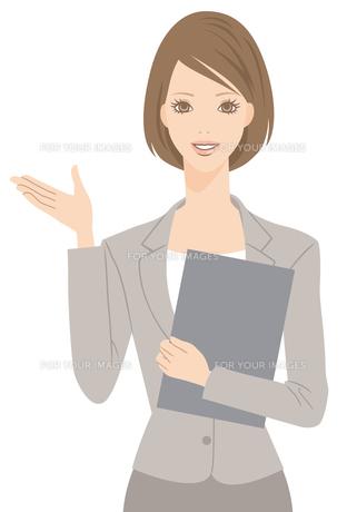 スーツを着た女性の写真素材 [FYI00169212]