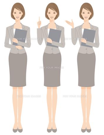 スーツを着た女性の写真素材 [FYI00169217]