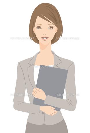 スーツを着た女性の写真素材 [FYI00169222]
