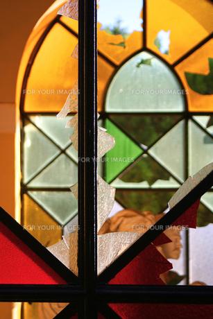 パレルモのステンドグラスの写真素材 [FYI00169399]