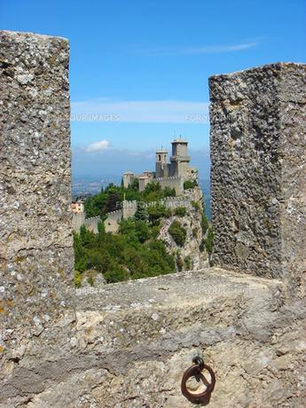 サンマリノ共和国の城の写真素材 [FYI00169419]