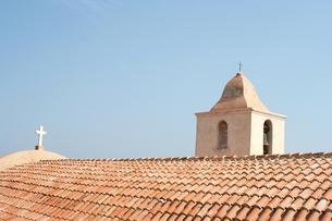 パステルの教会の写真素材 [FYI00169440]