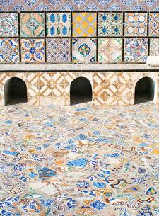 チュニジアのタイルアートの素材 [FYI00169448]