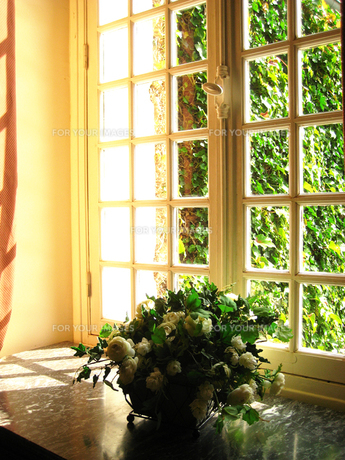 ある午後の窓辺(フランス)の素材 [FYI00169468]