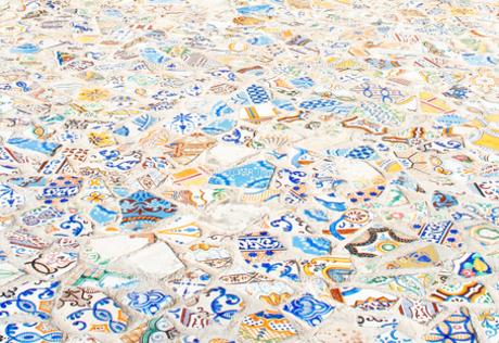 チュニジアのタイルアートの素材 [FYI00169486]