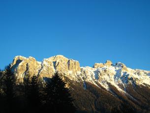 北イタリアの山脈の写真素材 [FYI00169487]