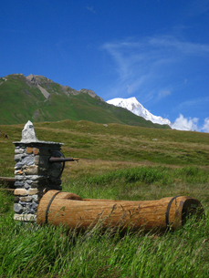 北イタリア・トュイレの写真素材 [FYI00169552]