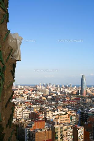 バルセロナのパノラマの素材 [FYI00169581]