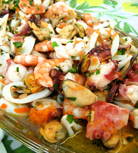 Italian Seafoodsの写真素材 [FYI00169585]