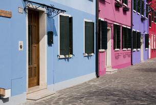 ブラーノ島の色彩の素材 [FYI00169597]