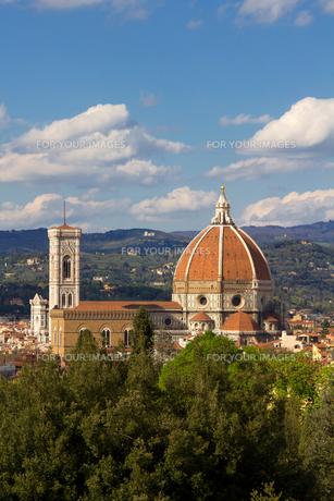 フィレンツェの眺めの素材 [FYI00169599]
