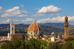 フィレンツェの眺めの素材 [FYI00169619]
