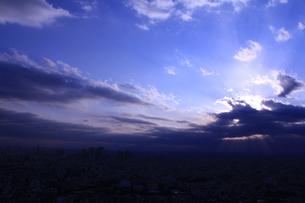 いつかの空の写真素材 [FYI00169736]