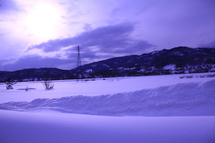 雪国での景色の素材 [FYI00169763]