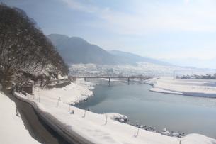 雪国の風景の素材 [FYI00169779]